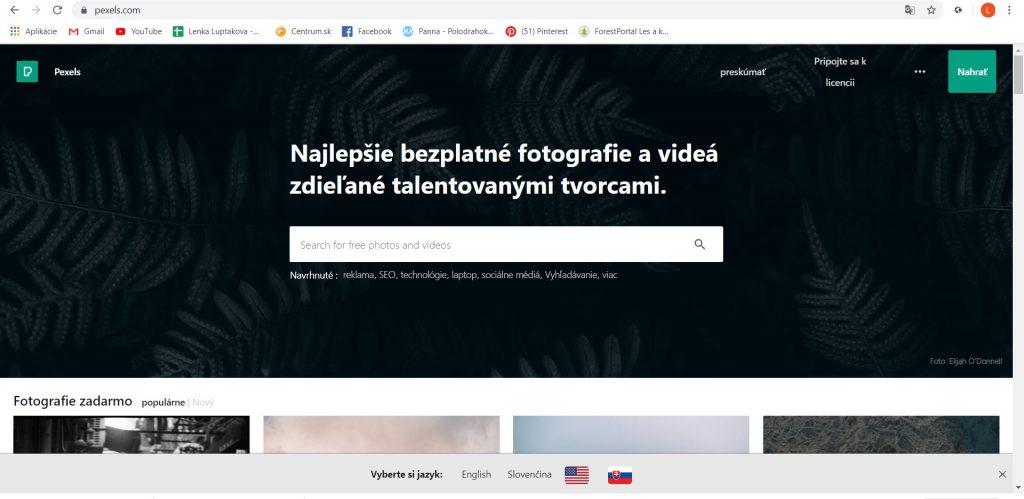Free fotobanka- obrázky na stiahnutie